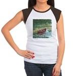 Paddle Faster Women's Cap Sleeve T-Shirt