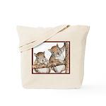 Pair of Baby Squirrels Tote Bag