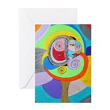 Soulful Tree Greeting Card