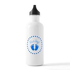 Cute B boy Water Bottle