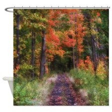 Fall Nature Trail Shower Curtain