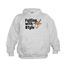 Falling with Style Squirrel Hoodie