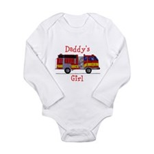 Daddy's Girl Fireman Body Suit