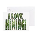 Hikers Hiking Walkers! Greeting Cards (Package of