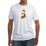 Blown Gold 3 Fitted T-Shirt