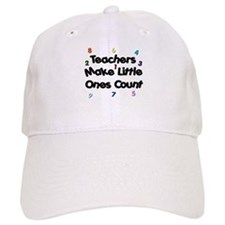 Teacher Count Baseball Baseball Cap