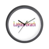 Laguna Beach Wall Clock