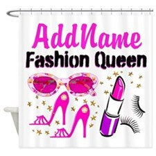 FASHION QUEEN Shower Curtain