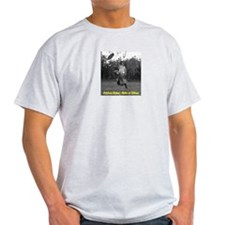 Frisbee Rules Rain or Shine! Ash Grey T-Shirt