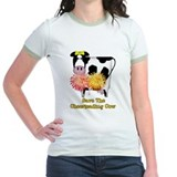 Cheerleading Cow T