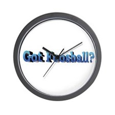 Wall Clock - Got Foosaball