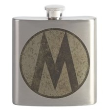 Monroe Republic Emblem Revolution Flask