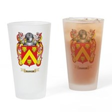 Parker Coat of Arms (Family Crest) Drinking Glass