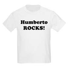 Humberto Rocks! Kids T-Shirt