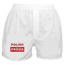 Polish & Proud Boxer Shorts