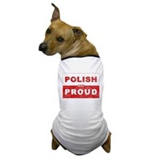 Polish & Proud Dog T-Shirt