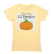 Omas Little Pumpkin Girl's Tee
