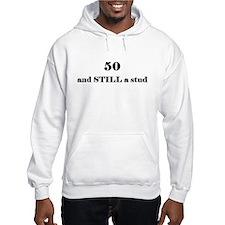 50 still stud 1 Hoodie