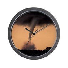 Super Tornado Wall Clock