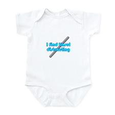 Dark I Find Tinsel Distractin Infant Bodysuit