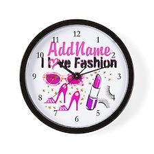 LOVE FASHION Wall Clock