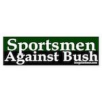 Sportsmen Against Bush (Sticker)