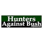 Hunters Against Bush (bumper sticker)