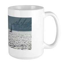 Sailboat in crystal light Mug
