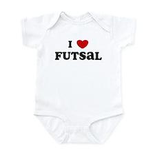 I Love Futsal Onesie