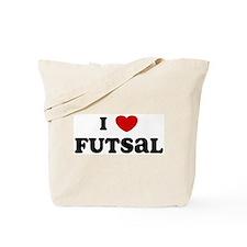 I Love Futsal Tote Bag