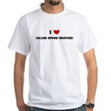 I Love Inline Speed Skating Shirt