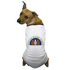 NSA Monitored Device Dog T-Shirt