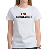 I Love Bobsleigh Tee