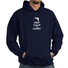 Keep Calm And Carry Hoodie