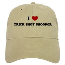 I Love Trick Shot Snooker Cap