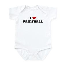 I Love Paintball Infant Bodysuit