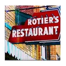Rotier's Restaurant - Nashville TN Tile Coaster