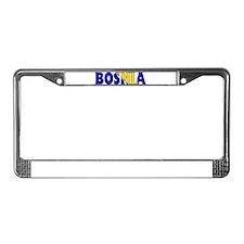 Bosnia License Plate Frame