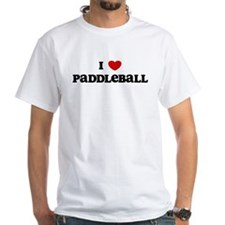 I Love Paddleball Shirt