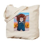 Chief Standing Bull Tote Bag