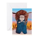 Chief Standing Bull Greeting Cards (Pk of 10)