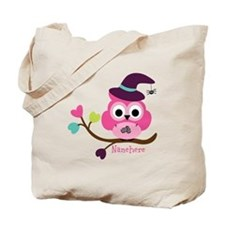 Personalized Wicked Witch Owl Tote Bag