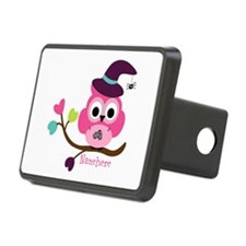 Personalized Wicked Witch Owl Hitch Cover