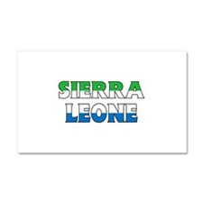 Sierra Leone Car Magnet 20 x 12