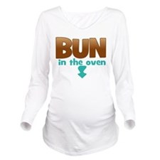Bun in the Oven Long Sleeve Maternity T-Shirt