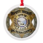 Big Horn County Sheriff Ornament