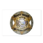 Big Horn County Sheriff Postcards (Package of 8)