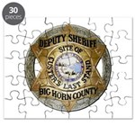 Big Horn County Sheriff Puzzle