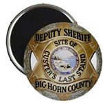 Big Horn County Sheriff Magnets