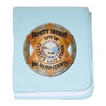Big Horn County Sheriff baby blanket
